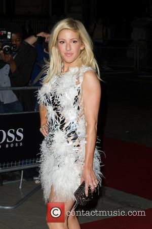 Ellie Goulding Flashes At Men Of The Year Awards