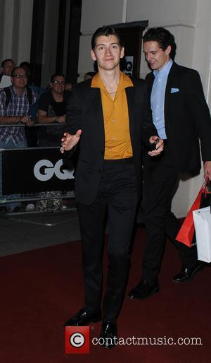 Alex Turner - GQ Men of the Year Awards held at the Royal Opera House - Departures - London, United...