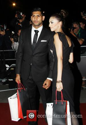 Amir Khan - GQ Men of the Year Awards held at the Royal Opera House - Departures - London, United...