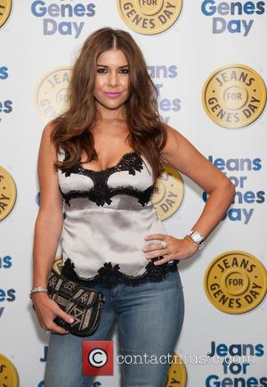 Imogen Thomas - Jeans for Genes 2013 party at the Jewel Bar - London, United Kingdom - Tuesday 3rd September...