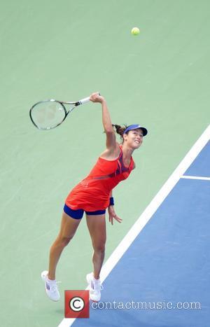 Ana Ivanovic - Victoria Azarenka defeats Ana Ivanovic this morning in the US Open in NYC - New York City,...