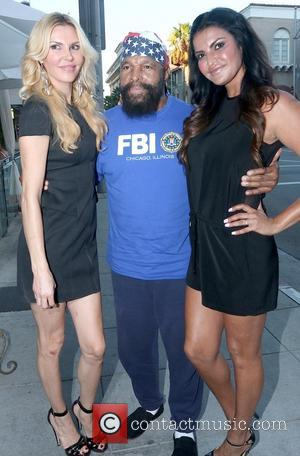 Brandi Glanville and Mr. T - The Real Housewives of Beverly Hills stars Brandi Glanville and Lisa Vanderpump meet with...