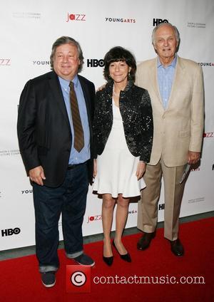 Kirk Simon, Karen Goodman and Alan Alda
