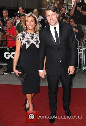 John Bishop and wife - GQ Men of the Year Awards 2013 - Arrivals - London, United Kingdom - Tuesday...