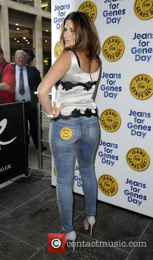Imogen Thomas - Jeans for Genes Launch Party at Jewel St Pauls - London, United Kingdom - Tuesday 3rd September...