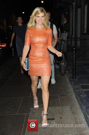Alice Eve - Celebrities at Groucho Club - London, United Kingdom - Wednesday 4th September 2013