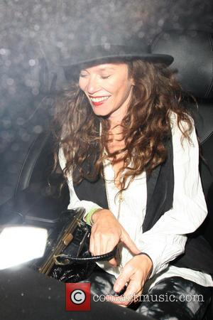 Anna Friel - Celebrities at Groucho Club - London, United Kingdom - Wednesday 4th September 2013