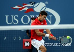 Novak Djokovic - Novak Djokovic, of SRB, v Marcel Granollers, of ESP, at the US Open Tennis Tournament, at the...