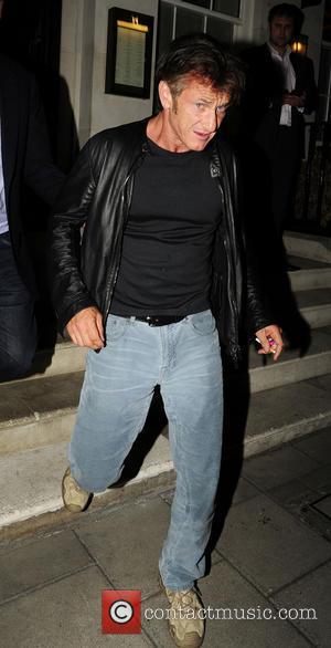 Sean Penn - Celebrities at 34 restaurant in Mayfair - London, United Kingdom - Wednesday 4th September 2013