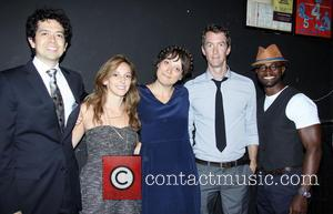 Geoffrey Arend, Adrienne Campbell-holt, Nikole Beckwith, Adam Harrington and Taye Diggs