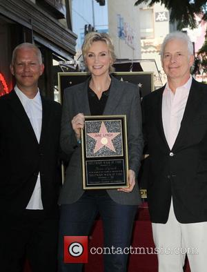 Ryan Murphy, Jane Lynch and Christopher Guest