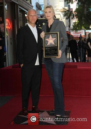 Ryan Murphy and Jane Lynch