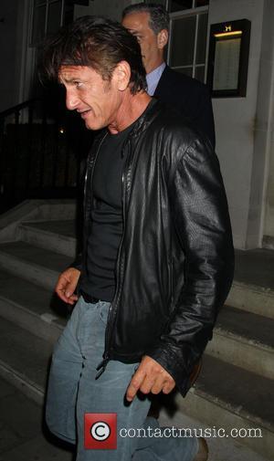 Sean Penn - Celebrities leave 34 restaurant in Mayfair - London, United Kingdom - Wednesday 4th September 2013
