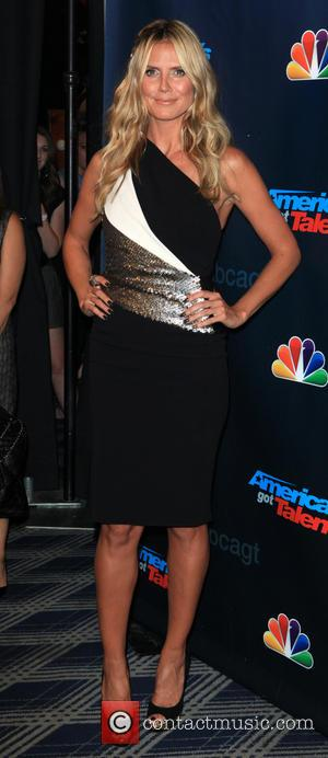 Heidi Klum - America's Got Talent - Season 8 Red Carpet Event at Radio City Music Hall - New York...