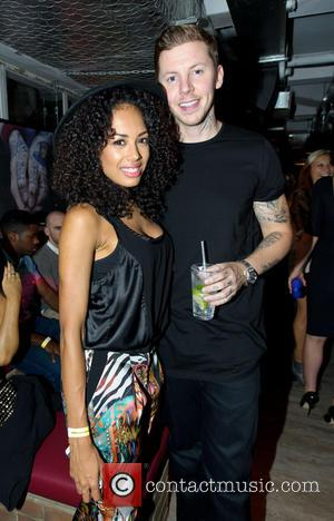 Jade Ewen and Stephen Manderson - The launch of new Leicester Square nightclub 'INK', from Stephen Manderson aka Professor Green...