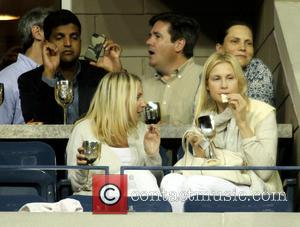 Kelly Rutherford - Celebrities attend day 10 of the 2013 Tennis US Open. - New York, NY, United States -...