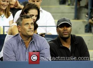 Michael Strahan - Celebrities attend day 10 of the 2013 Tennis US Open. - New York, NY, United States -...