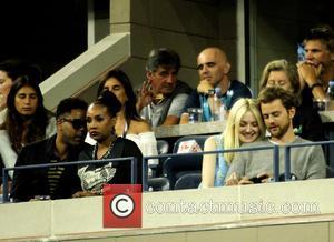 Vivica Fox, Dakota Fanning and Jamie Strachan - Celebrities attend day 10 of the 2013 Tennis US Open. - New...