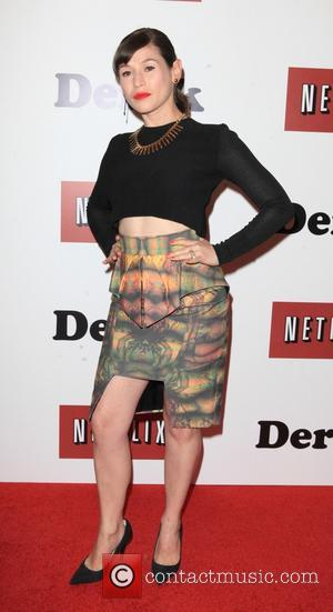 Yael Stone - New York Premiere of 'Derek' at the Museum of Modern Art (MOMA) - New York City, NY,...