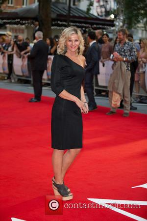 Linda Barker - 'Diana' World Premiere held at the Odeon Leicester Square - Arrivals - London, United Kingdom - Thursday...