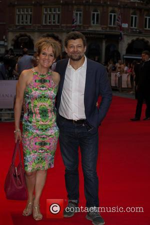 Lorraine Ashbourne and Andy Serkis - 'Diana' World Premiere held at the Odeon Leicester Square - Arrivals - London, United...