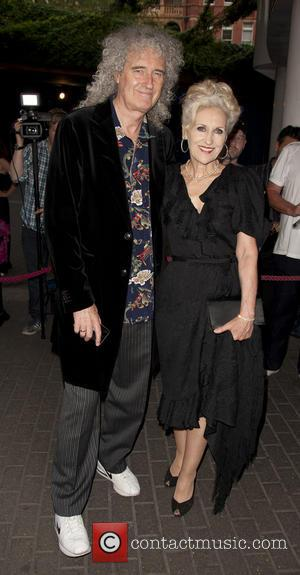 Brian May and Anita Dobson - 'Flight Of The Butterflies' in 3D - U.K. premiere - London, United Kingdom -...