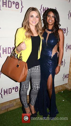 Sian Welby and Danni Park-Dempsey - The HDOsw (Hors D'Oeuvre South Woodford) launch party in South Woodford in North East...