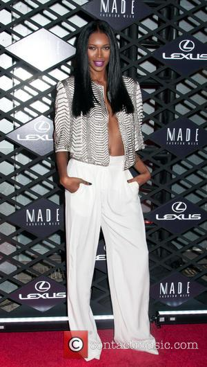 Jessica White - Mercedes-Benz Fashion Week Spring 2014 at Lexus Design Disrupted at SIR Stage37 at The Theatre at Lincoln...