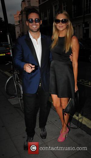 Spencer Matthews and Stephanie Pratt - Taylor Morris Launch Party - Arrivals - London, United Kingdom - Thursday 5th September...