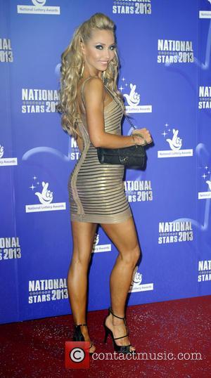 Iveta Lukosiute - National Lottery Stars 2013 - Arrivals - London, United Kingdom - Thursday 5th September 2013