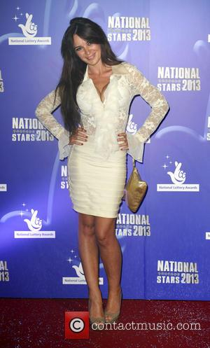 Kierston Wareing - National Lottery Stars 2013 - Arrivals - London, United Kingdom - Thursday 5th September 2013