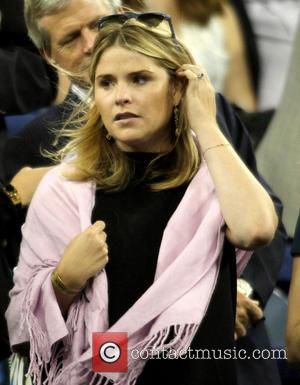 Jenna Bush Hager - Celebrities attend the 2013 US Open Tennis Championships game between Novak Djokovic and Mikhail Youzhny at...