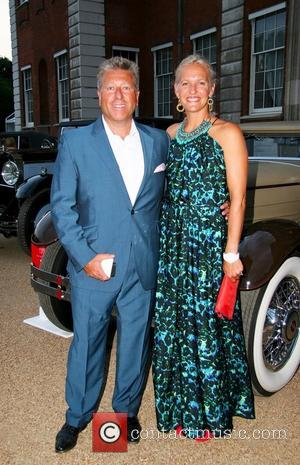 DJ Neil Fox and Guest - St. James's Concours of Elegance 2013 at The Royal Gardens - London, United Kingdom...
