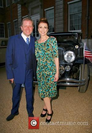 Jon Culshaw and Emma Sams - St. James's Concours of Elegance 2013 at The Royal Gardens - London, United Kingdom...