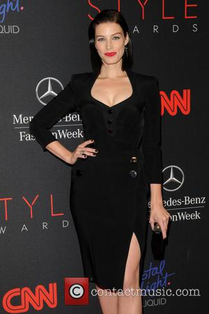 Jessica Pare - 2013 Style Awards - red carpet arrivals at Lincoln Center - Manhattan, New York, United States -...
