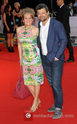 Andy Serkis - World Premiere of 'Diana' held at the Odeon Leicester Square - Arrivals - London, United Kingdom -...