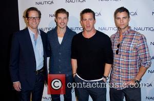 Matt Letscher, Josh Henderson, Chris Cox and Colin Egglesfield