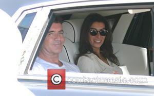 Simon Cowell and Mezhgan Hussainy