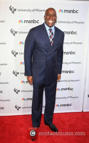 Magic Johnson - 'Advancing The Dream: Live From The Apollo' hosted by Reverend Al Sharpton at The Apollo Theater -...