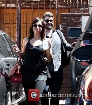 Jack Osbourne and Cheryl Burke - 'Dancing With The Stars' contestants and dance partners seen leaving the rehearsal studios -...