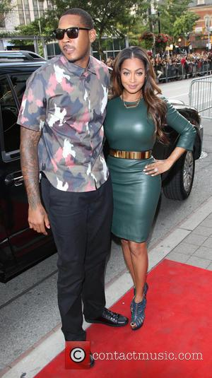 Carmelo Anthony and La La Anthony - 38th Toronto International Film Festival - '12 Years A Slave' - Premiere -...