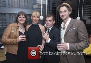 Megan Griffiths, Toni Collette, Peer Pedersen and Ryan Eggold