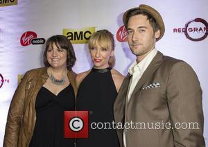Toni Collette, Megan Griffiths and Ryan Eggold