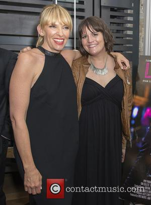 Toni Collette and Megan Griffiths - 38th Toronto International Film Festival - 'Lucky Them' - After Party - Toronto, Ontario,...