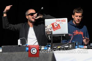 Zane Lowe and Mark Ronson