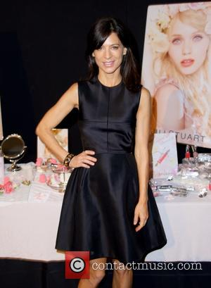 Perrey Reeves - New York Spring 2014 Fashion Week - Jill Stuart Debut Collection - Backstage - New York City,...