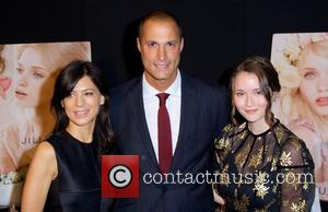 Perrey Reeves, Nigel Barker and Katie Chang