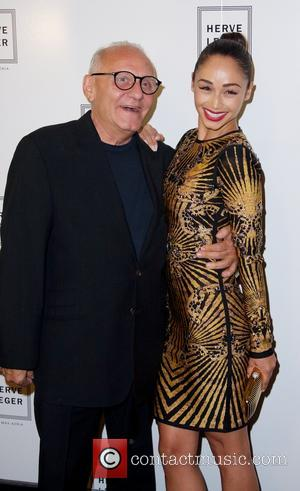 Max Azria and Cara Santana