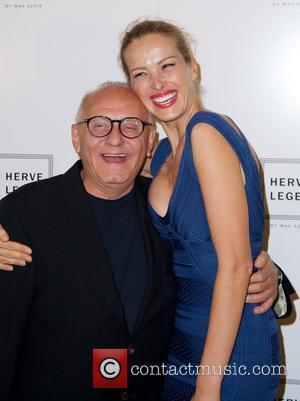 Max Azria and Petra Nemcova