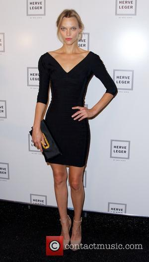 Sarah DeAnna - Mercedes-Benz New York Fashion Week Spring/Summer 2014 - Herve Leger by Max Azria - Arrivals - New...